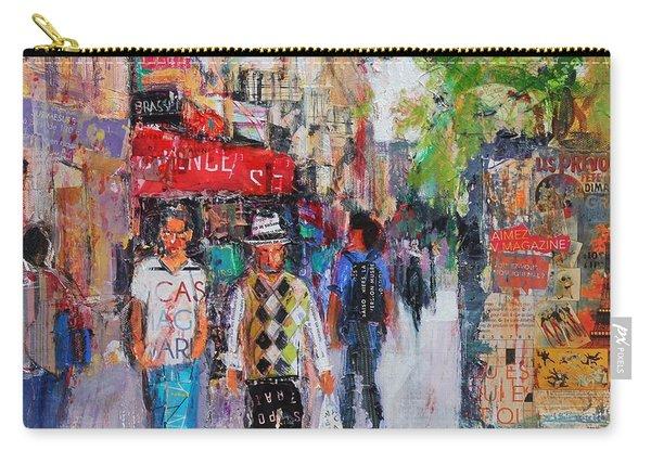 Paris Street Carry-all Pouch