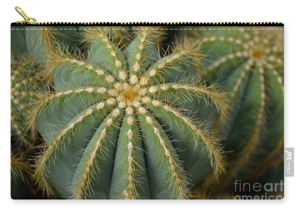 Carry-all Pouch featuring the photograph Parodia Magnifica by Scott Lyons