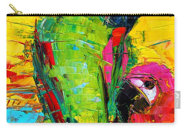 Parrot Lovers Carry-all Pouch