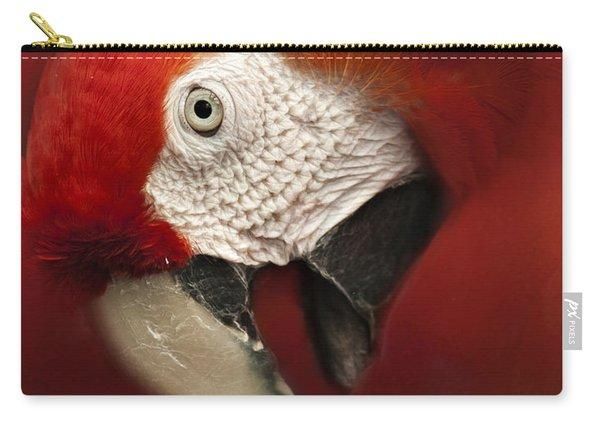 Parrot Portrait Carry-all Pouch