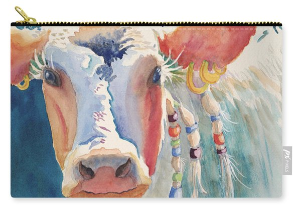 Party Gal - Cow Carry-all Pouch