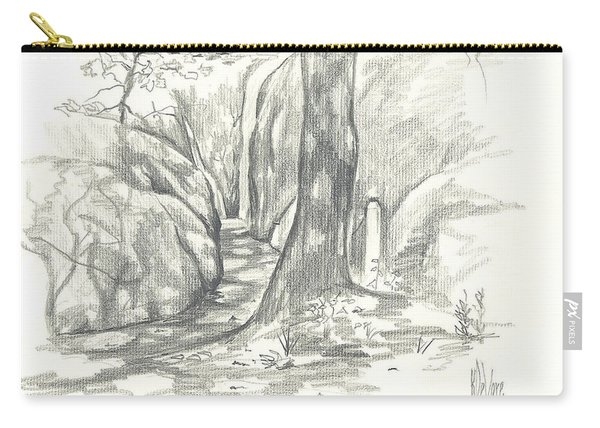 Passageway At Elephant Rocks Carry-all Pouch