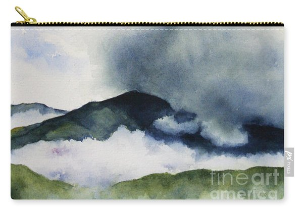 Passing Storm On Mt. Diablo Carry-all Pouch