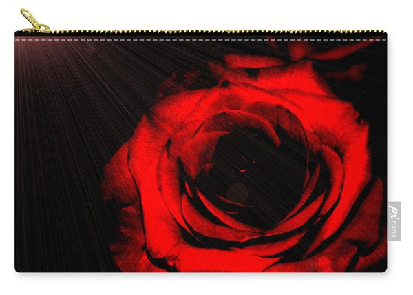 Passion. Red Rose Carry-all Pouch