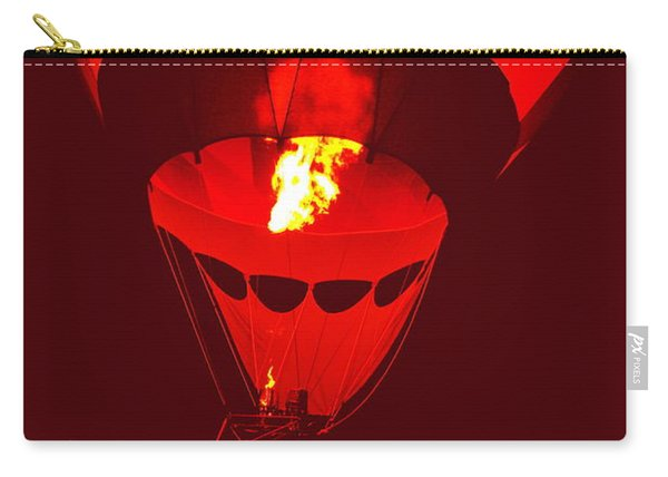 Carry-all Pouch featuring the painting Passion's Flame by Nancy Cupp