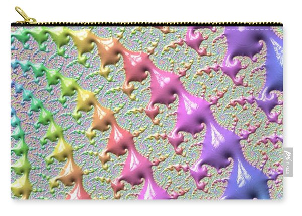 Pastel Drizzle Carry-all Pouch