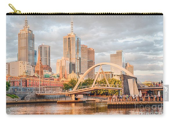 Pastel Melbourne Carry-all Pouch