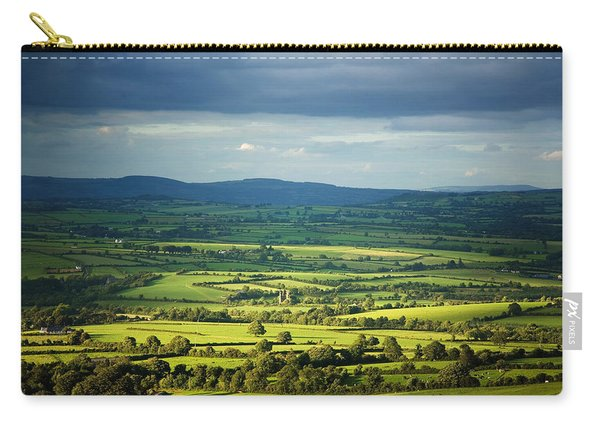 Pastoral Fields, Near Clonea, County Carry-all Pouch