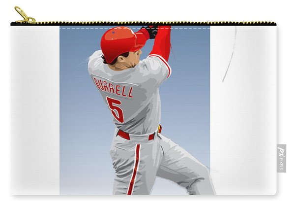 Pat The Bat Burrell Carry-all Pouch