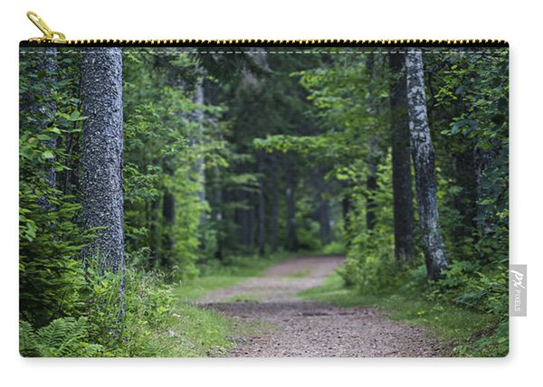 Path In Dark Forest Carry-all Pouch