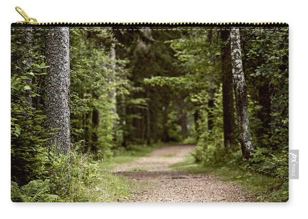 Path In Old Forest Carry-all Pouch
