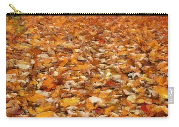 Path Of Fallen Leaves Carry-all Pouch