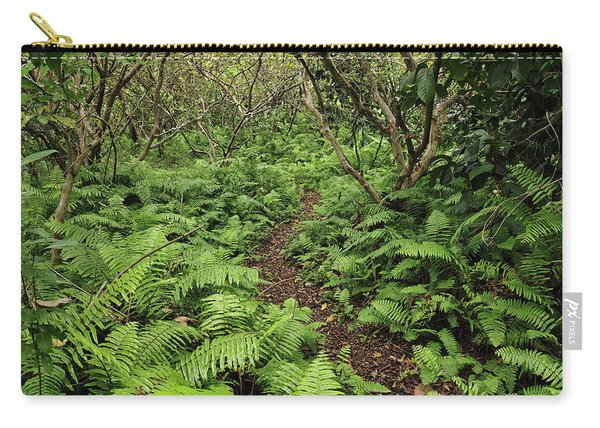 Path Through Jozani Np Zanzibar Tanzania Carry-all Pouch