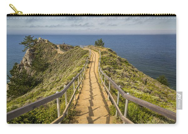 Path To Muir Beach Overlook Carry-all Pouch