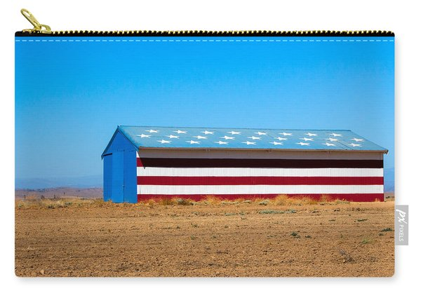 Patriotic Barn Carry-all Pouch