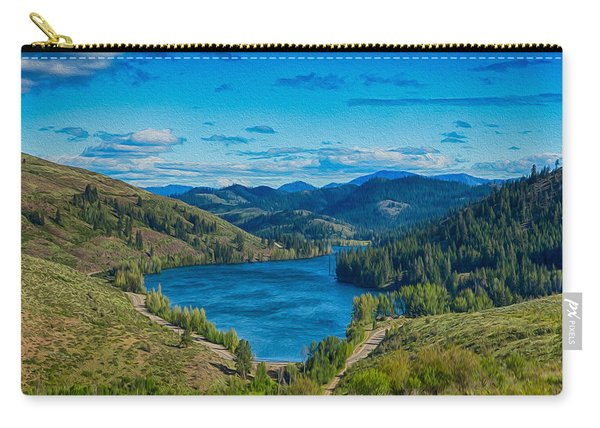 Patterson Lake In The Summer Carry-all Pouch
