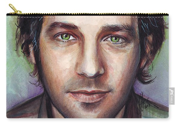 Paul Rudd Portrait Carry-all Pouch