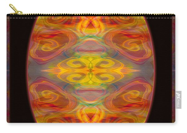 Peace And Harmony Abstract Healing Art Carry-all Pouch