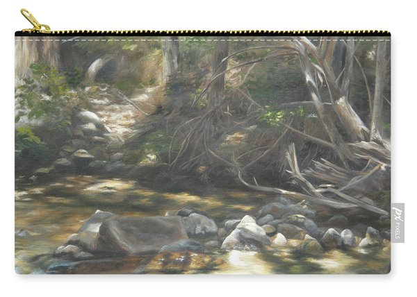 Peace At Darby Carry-all Pouch