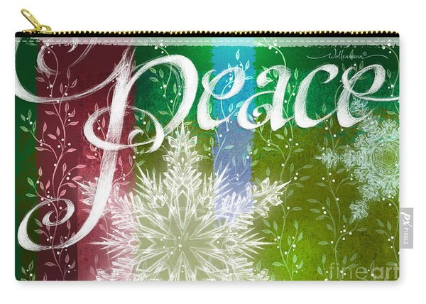 Peace Greeting Carry-all Pouch