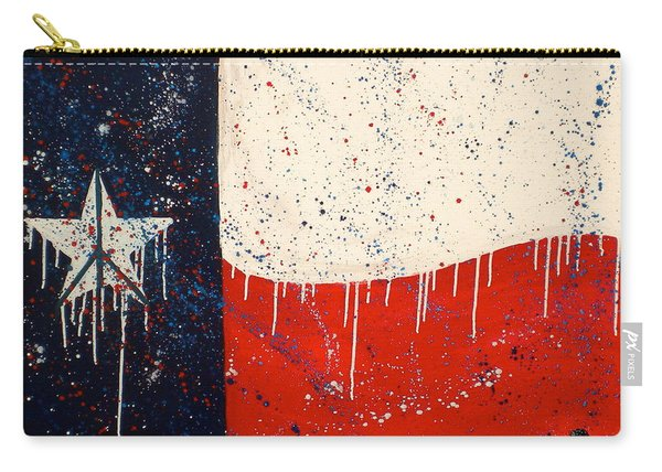 Peace Love And Texas Carry-all Pouch