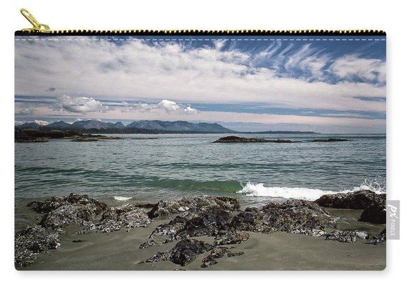 Peaceful Pacific Beach Carry-all Pouch