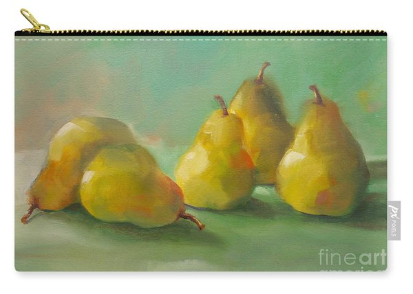 Peaceful Pears Carry-all Pouch
