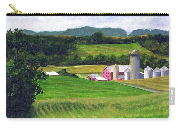 Peaceful Valley View Carry-all Pouch