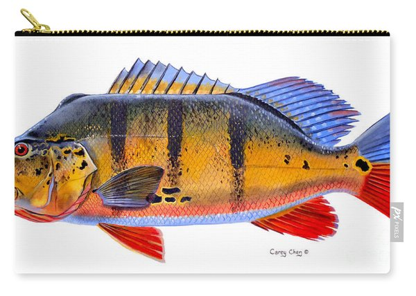 Peacock Bass Carry-all Pouch