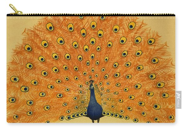Peacock Carry-all Pouch