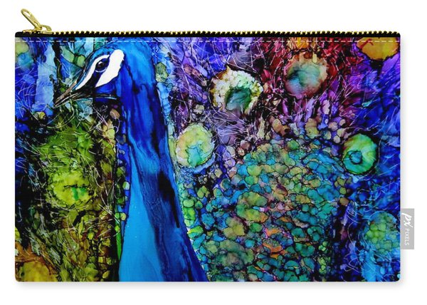 Peacock II Carry-all Pouch