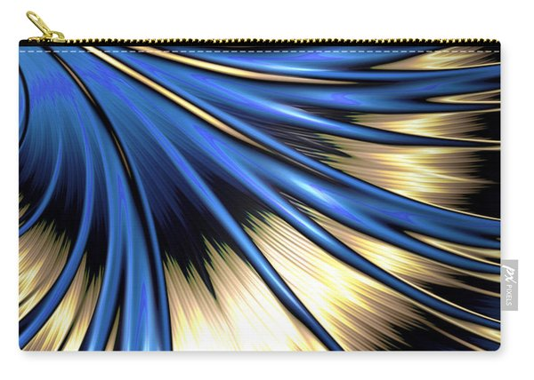 Peacock Tail Feather Carry-all Pouch