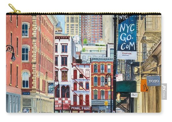 Pearl Paint Canal St. From Mercer St. Nyc Carry-all Pouch