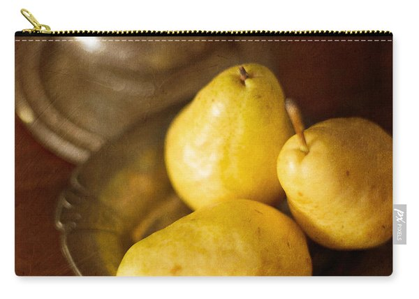Pears And Great Grandpa's Silver Carry-all Pouch