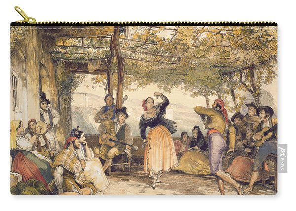 Peasants Dancing The Bolero Carry-all Pouch