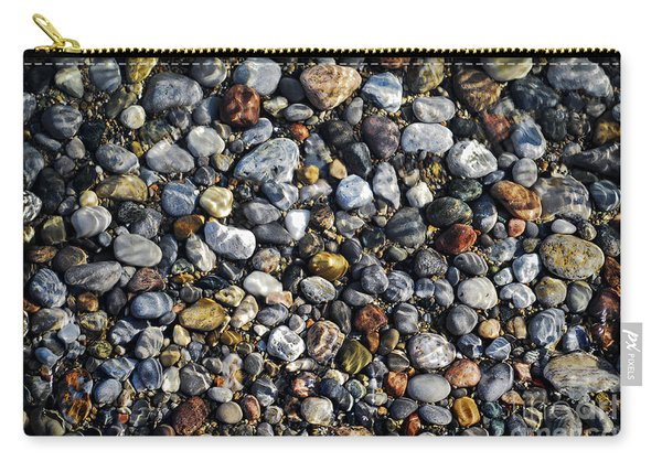 Pebbles Under Water Carry-all Pouch