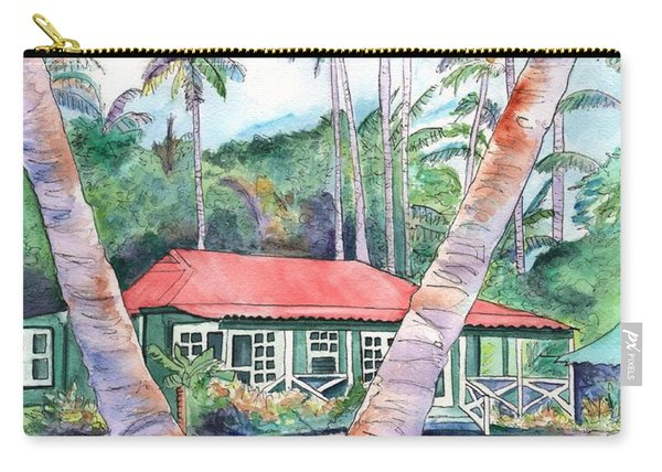 Peeking Between The Palm Trees 2 Carry-all Pouch
