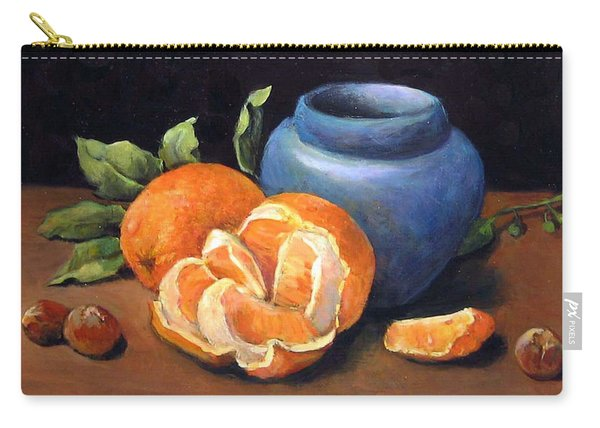 Peeled Orange Carry-all Pouch