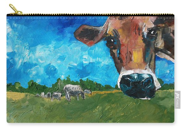 Peeping Bessie Carry-all Pouch