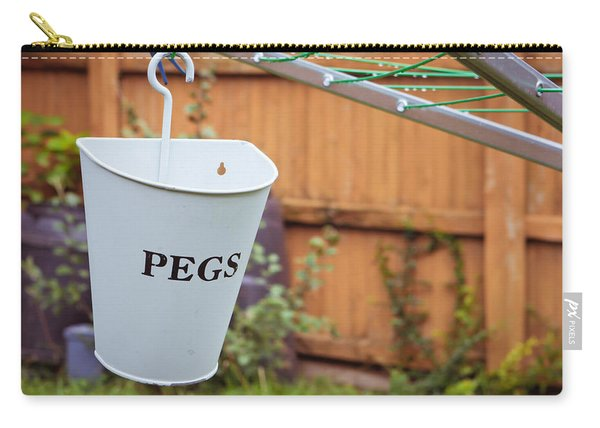 Pegs Holder Carry-all Pouch