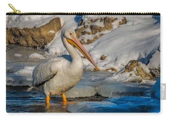 Pelican And Ice Carry-all Pouch