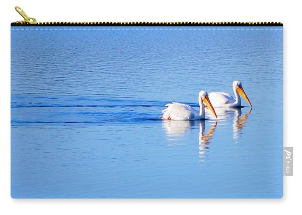Pelicans On The Bay Carry-all Pouch
