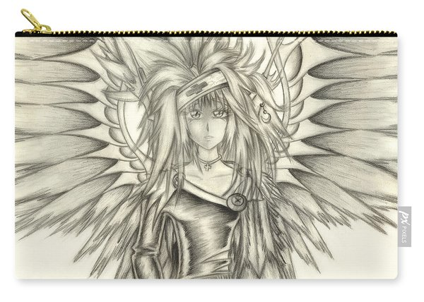 Pelusis God Of Law And Order Carry-all Pouch