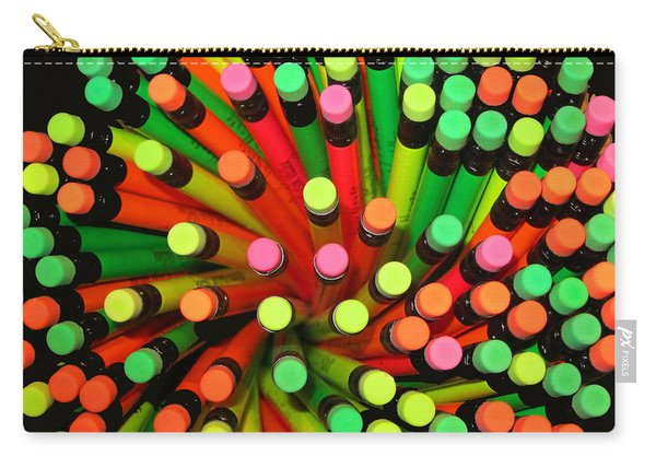 Pencil Blossom Carry-all Pouch