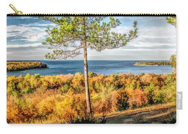 Peninsula State Park Scenic Overlook Panorama Carry-all Pouch