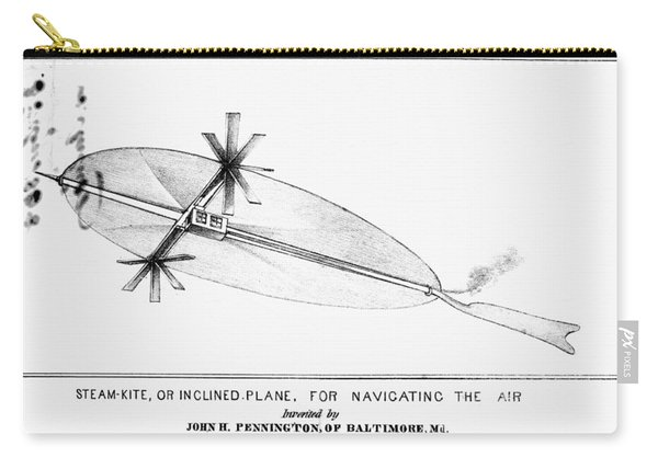 Penningtons Airship, 1838 Carry-all Pouch