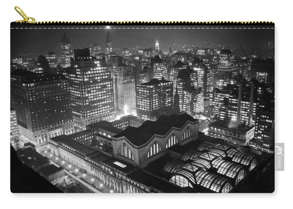 Pennsylvania Station At Night Carry-all Pouch