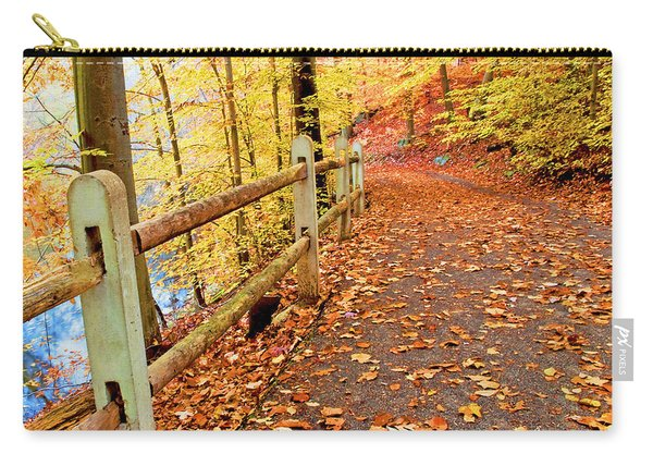 Pennypack Trail Philadelphia Fall Carry-all Pouch