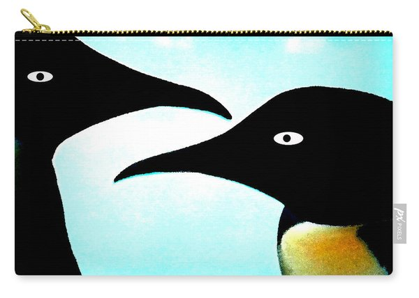 Penquin Love Carry-all Pouch