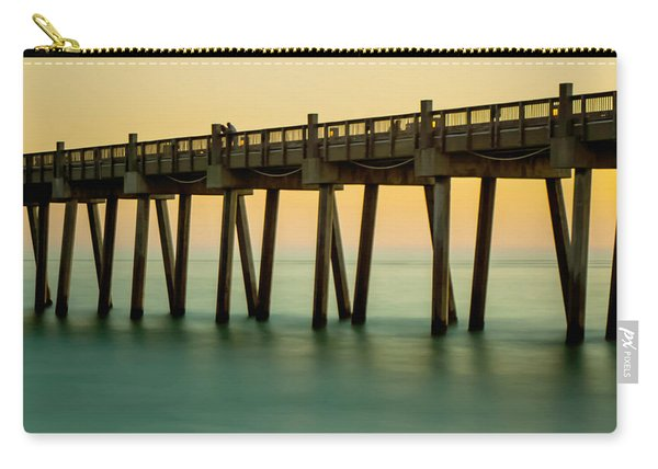 Pensacola Beach Fishing Pier Carry-all Pouch